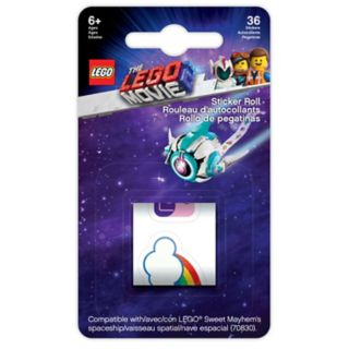 THE LEGO® MOVIE 2™ Sticker Roll