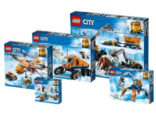 LEGO® City balík Dobrodružstvá vArktíde
