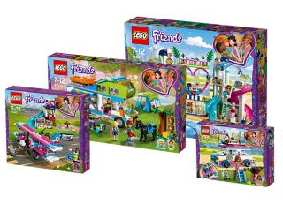 "LEGO® Friends Paket ""Abenteuer in Heartlake City"""