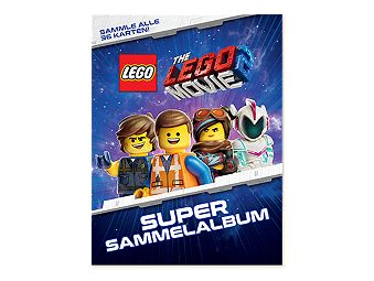 THE LEGO® MOVIE 2™ Sammelalbum und Tauschkarte