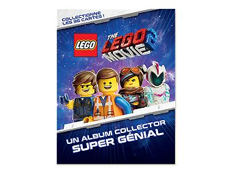 Album collector et cartes à collectionner THE LEGO® MOVIE 2™