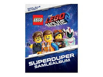 GRATIS THE LEGO® MOVIE 2™ samlealbum!