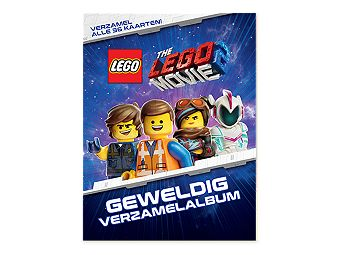 THE LEGO® MOVIE 2™ Collector Album and Trading Card