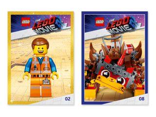 Lots de cartes à collectionner THE LEGO® MOVIE 2™ GRATUITS!*