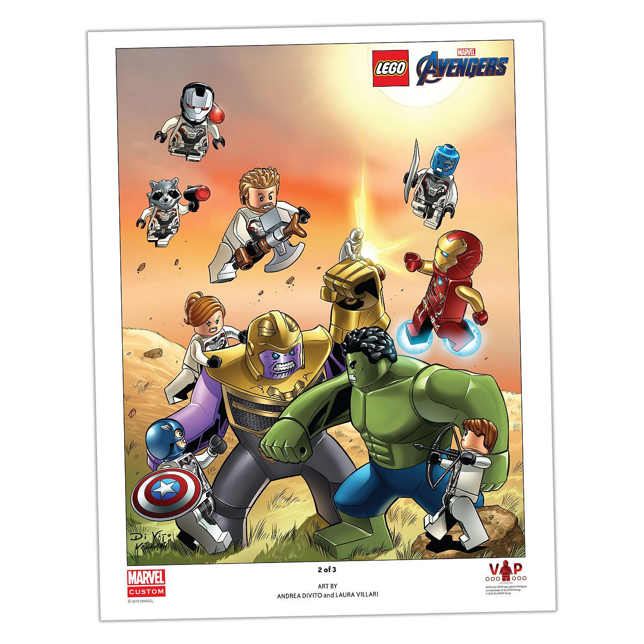 LEGO® Avengers: Endgame art print 2 of 3 5005881 | UNKNOWN | Buy online at  the Official LEGO® Shop US