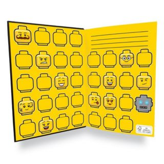 Minifigure Notebook