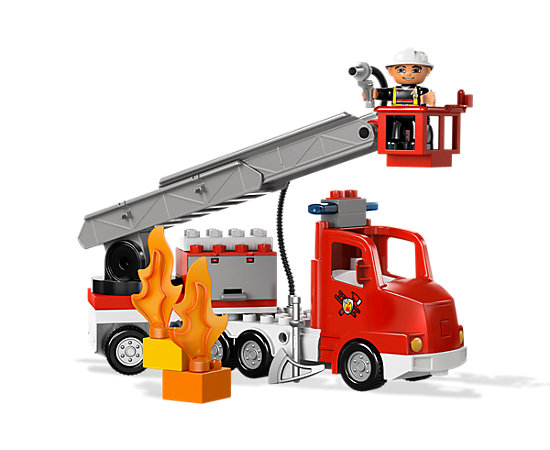 fire truck 5682 duplo lego shop. Black Bedroom Furniture Sets. Home Design Ideas