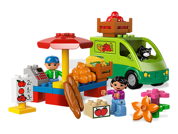 Market Place 5683 Duplo Lego Shop
