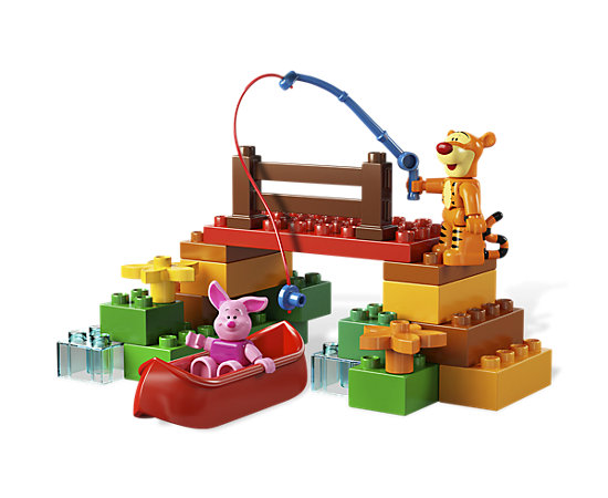 Tigger s expedition 5946 duplo lego shop for Fishing lego set