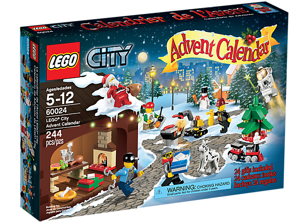 Count down to Christmas with the LEGO® City Advent Calendar, featuring buildable surprises, exclusive elements and 8 minifigures!