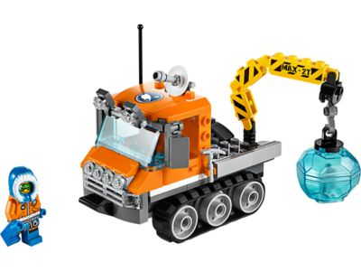 Explore product details and fan reviews for buildable toy Arctic Ice Crawler 60033 from City Arctic. Buy today with The Official LEGO® Shop Guarantee.
