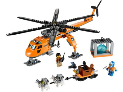 Explore product details and fan reviews for buildable toy Arctic Helicrane 60034 from City Arctic. Buy today with The Official LEGO® Shop Guarantee.