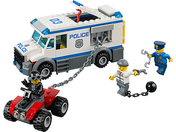 Explore product details and fan reviews for buildable toy Prisoner Transporter 60043 from City Police. Buy today with The Official LEGO® Shop Guarantee.