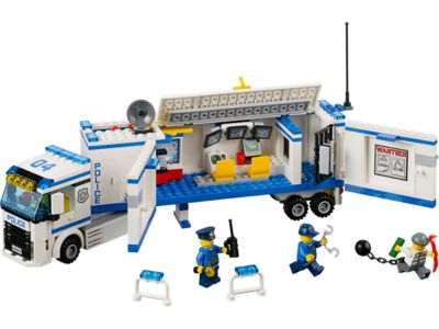 Explore product details and fan reviews for buildable toy Mobile Police Unit 60044 from City Police. Buy today with The Official LEGO® Shop Guarantee.