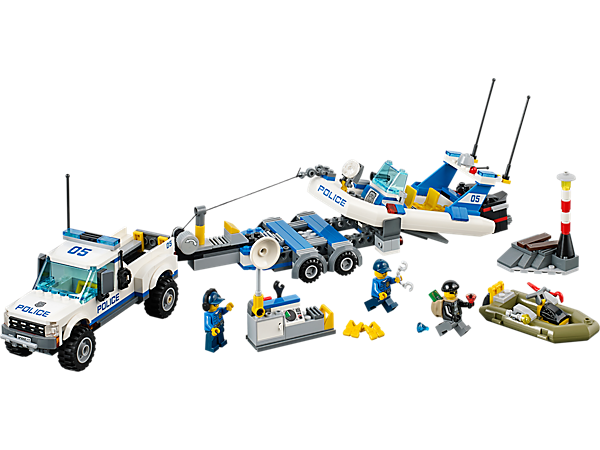 Explore product details and fan reviews for buildable toy Police Patrol 60045 from City Police. Buy today with The Official LEGO® Shop Guarantee.