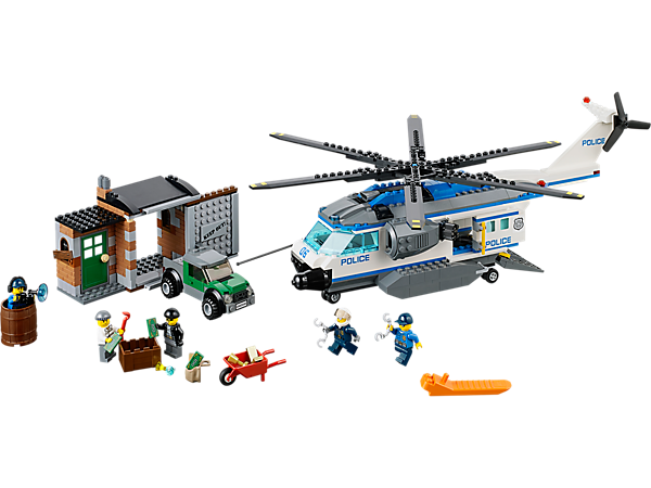 Explore product details and fan reviews for buildable toy Helicopter Surveillance 60046 from City Police. Buy today with The Official LEGO® Shop Guarantee.