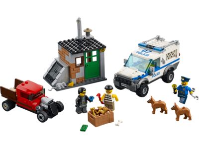 Explore product details and fan reviews for buildable toy Police Dog Unit 60048 from City Police. Buy today with The Official LEGO® Shop Guarantee.