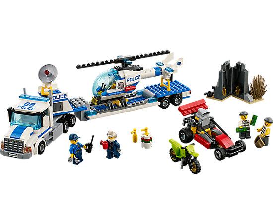 Helicopter Transporter 60049 City Lego Shop