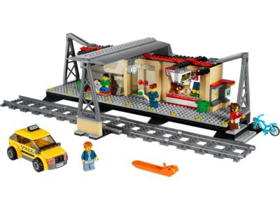 Explore product details and fan reviews for buildable toy Train Station 60050 from City Trains. Buy today with The Official LEGO® Shop Guarantee.