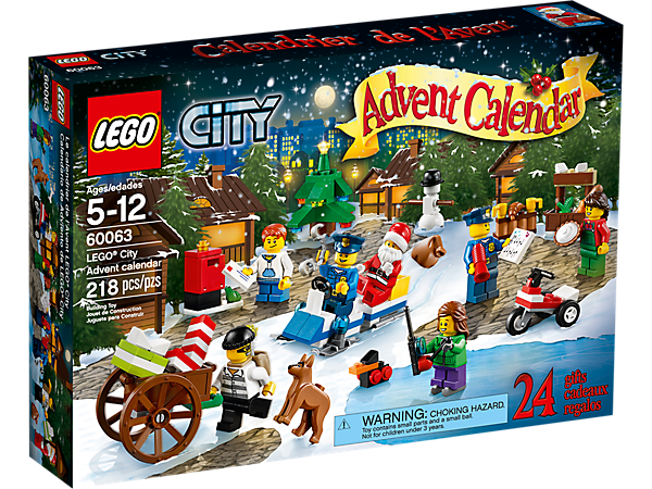 Explore product details and fan reviews for LEGO® City Advent calendar 60063 from City Town. Buy today with The Official LEGO® Shop Guarantee.