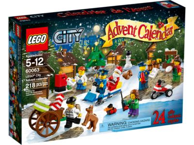 LEGO® City Advent Calendar - 60063 | City | LEGO Shop