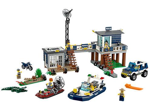 Swamp Police Station 60069 City Lego Shop
