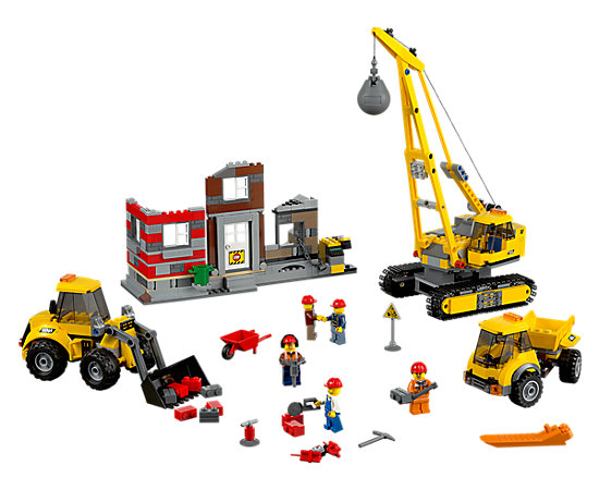 abriss baustelle 60076 city lego shop. Black Bedroom Furniture Sets. Home Design Ideas