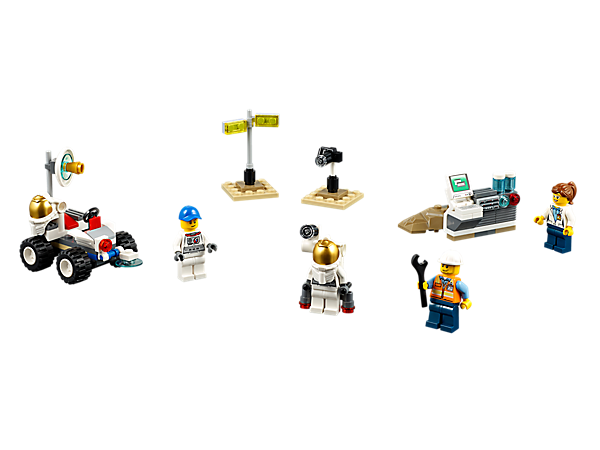Explore product details and fan reviews for Space Starter Set 60077 from City. Buy today with The Official LEGO® Shop Guarantee.