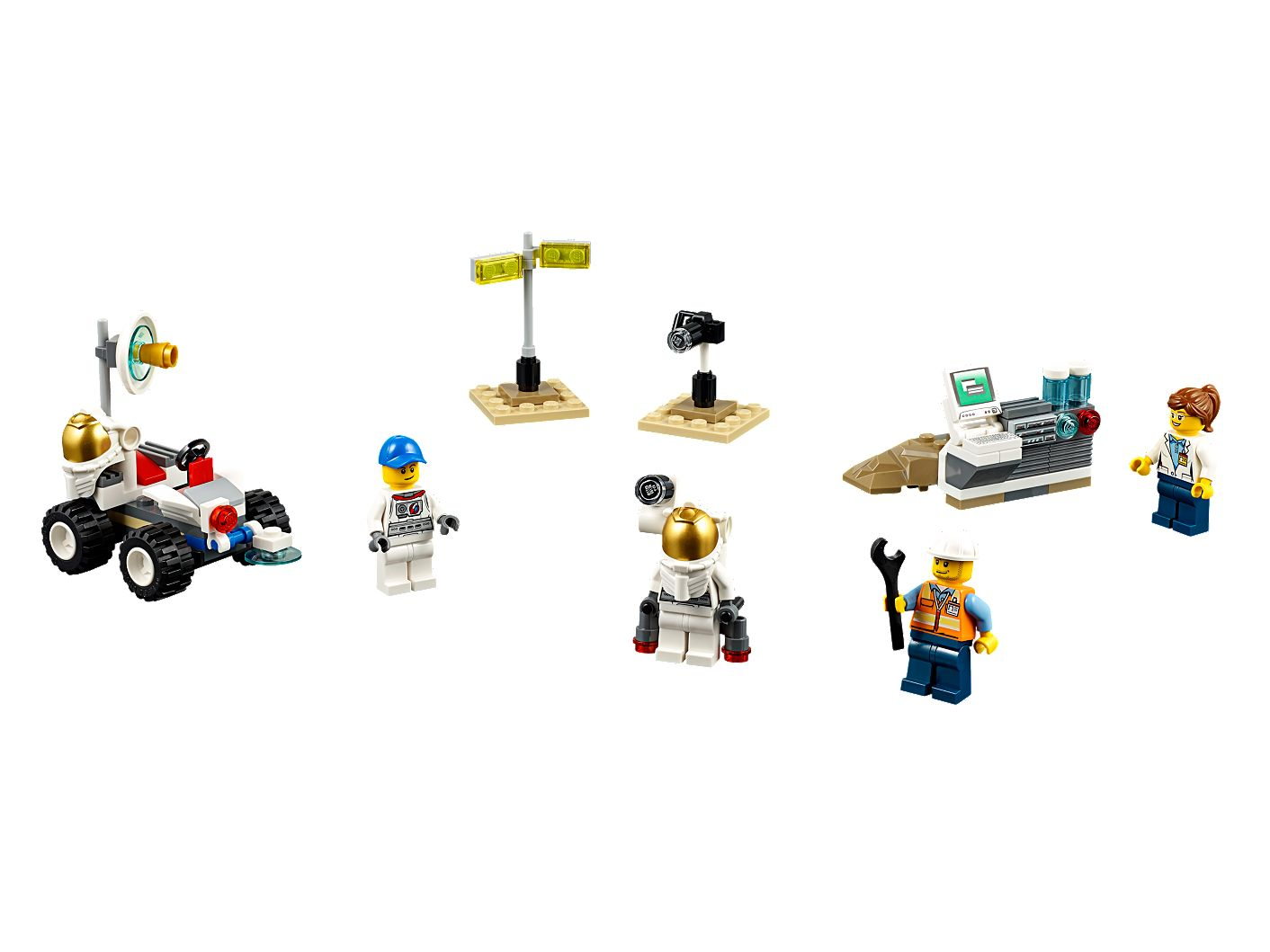 Space Starter Set 60077 | City | Buy online at the Official LEGO® Shop US