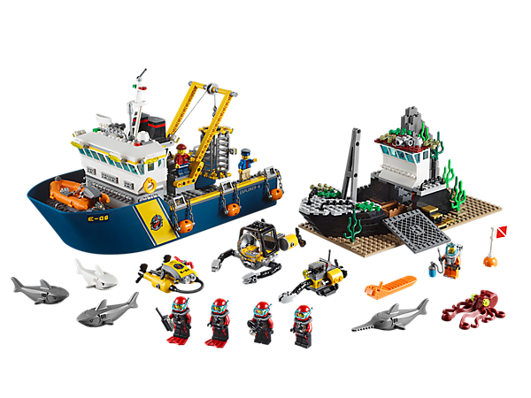 Explore product details and fan reviews for Deep Sea Exploration Vessel 60095 from City. Buy today with The Official LEGO® Shop Guarantee.