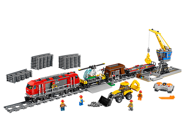 Explore product details and fan reviews for Heavy-Haul Train 60098 from City Trains. Buy today with The Official LEGO® Shop Guarantee.