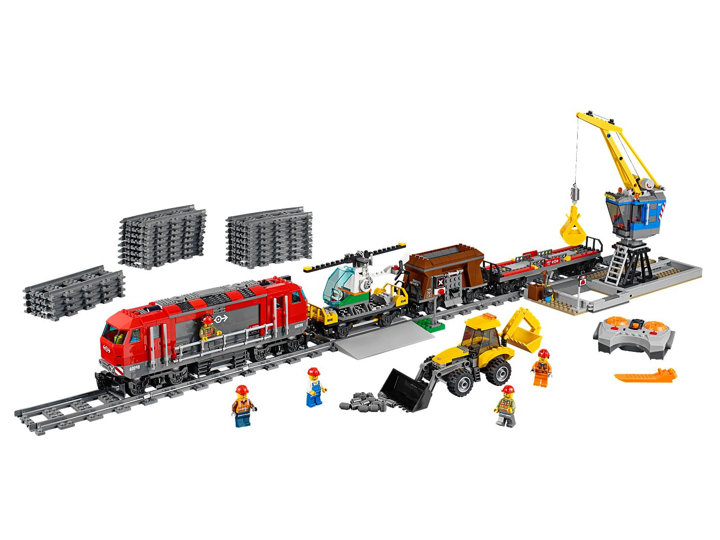 Heavy-Haul Train 60098 | City | Buy online at the Official LEGO® Shop US