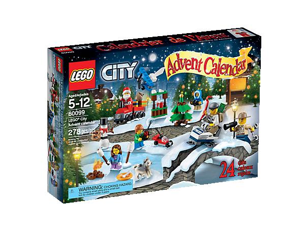 Conta alla rovescia fino a Natale con il Calendario dell'Avvento LEGO® City con tante sorprese tematiche - polizia, spazio, artico e Natale - più 6 minifigure.