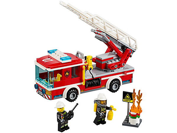 Explore product details and fan reviews for Fire Ladder Truck 60107 from CITY. Buy today with The Official LEGO® Shop Guarantee.