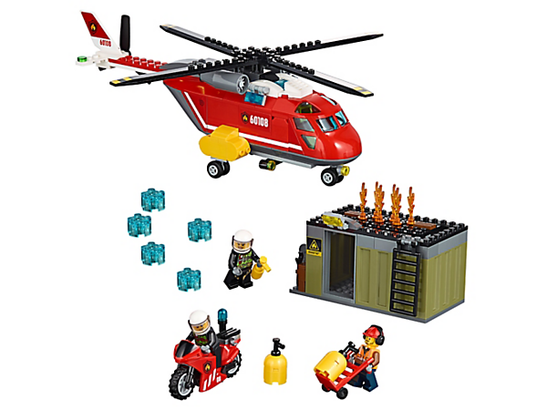 Explore product details and fan reviews for Fire Response Unit 60108 from CITY. Buy today with The Official LEGO® Shop Guarantee.