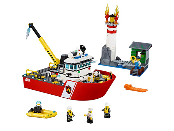 Explore product details and fan reviews for Fire Boat 60109 from CITY. Buy today with The Official LEGO® Shop Guarantee.