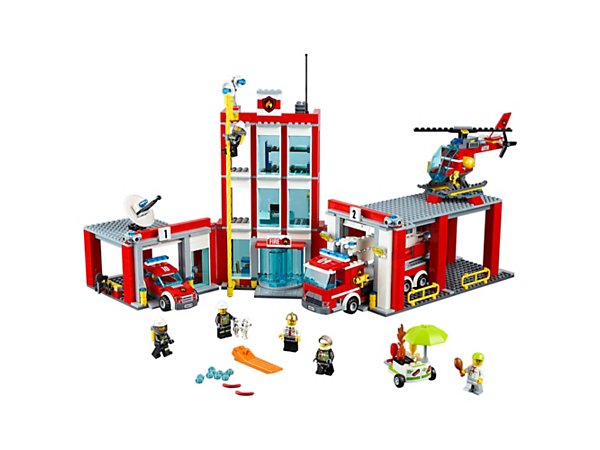 Explore product details and fan reviews for Fire Station 60110 from CITY. Buy today with The Official LEGO® Shop Guarantee.