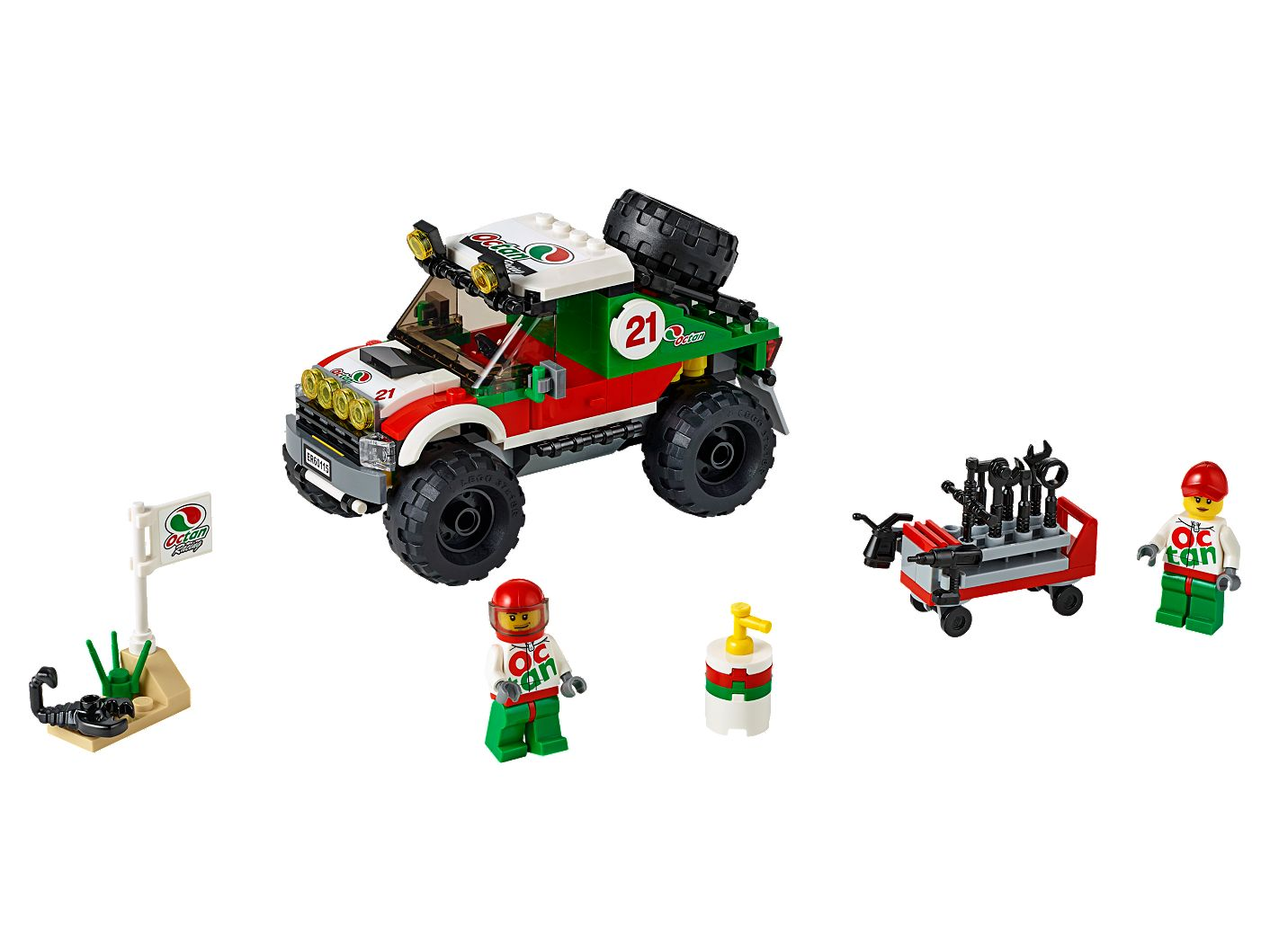 4 x 4 Off Roader 60115 | City | Buy online at the Official LEGO® Shop US