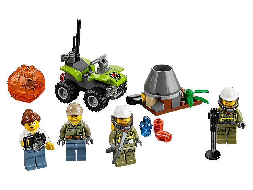 Lego Volcano Starter Set
