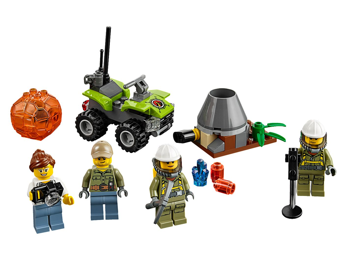 Volcano Starter Set 60120 | City | Buy online at the Official LEGO® Shop US