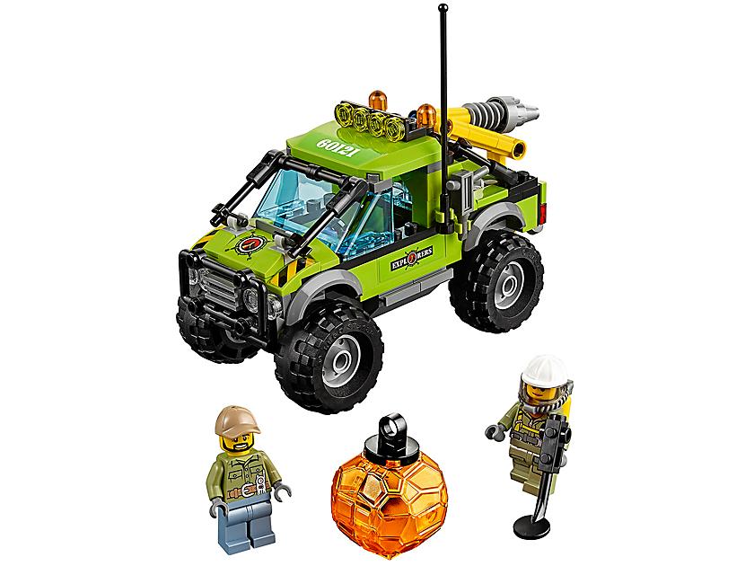 Lego Volcano Exploration Truck