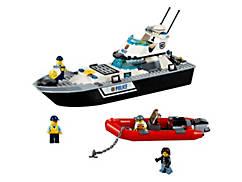 Polizei-Patrouillen-Boot