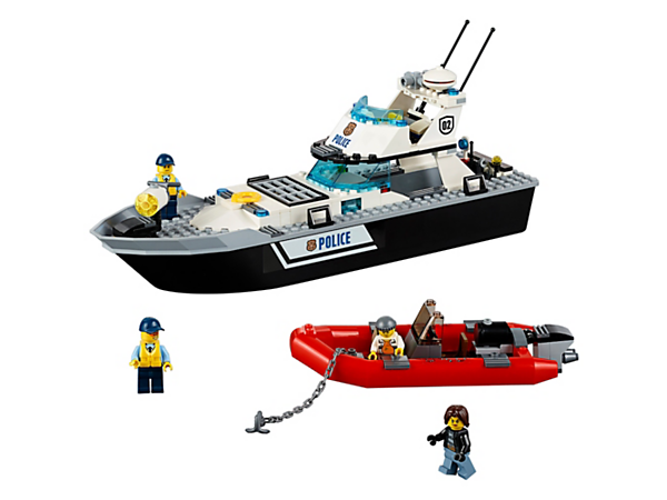 Explore product details and fan reviews for Police Patrol Boat 60129 from CITY. Buy today with The Official LEGO® Shop Guarantee.
