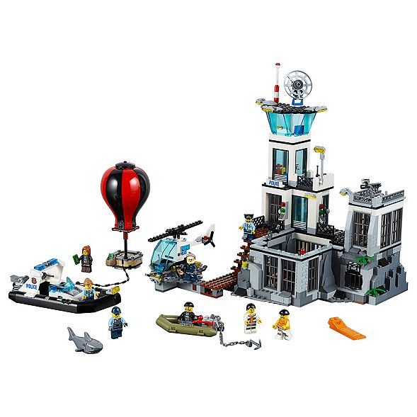 Prison Island 60130 | City | Buy online at the Official LEGO® Shop US