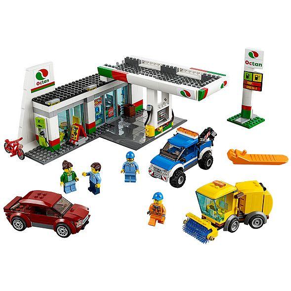 Stacja Paliw 60132 City Lego Shop