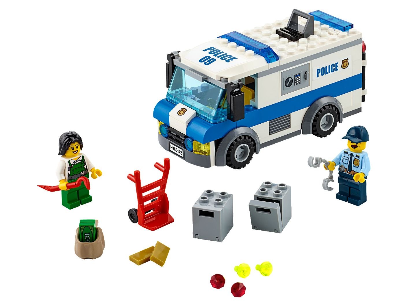 Money Transporter 60142 | City | Buy online at the Official LEGO® Shop US