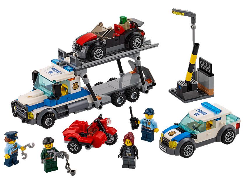 Lego Auto Transport Heist