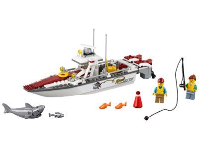 bateau de peche lego city