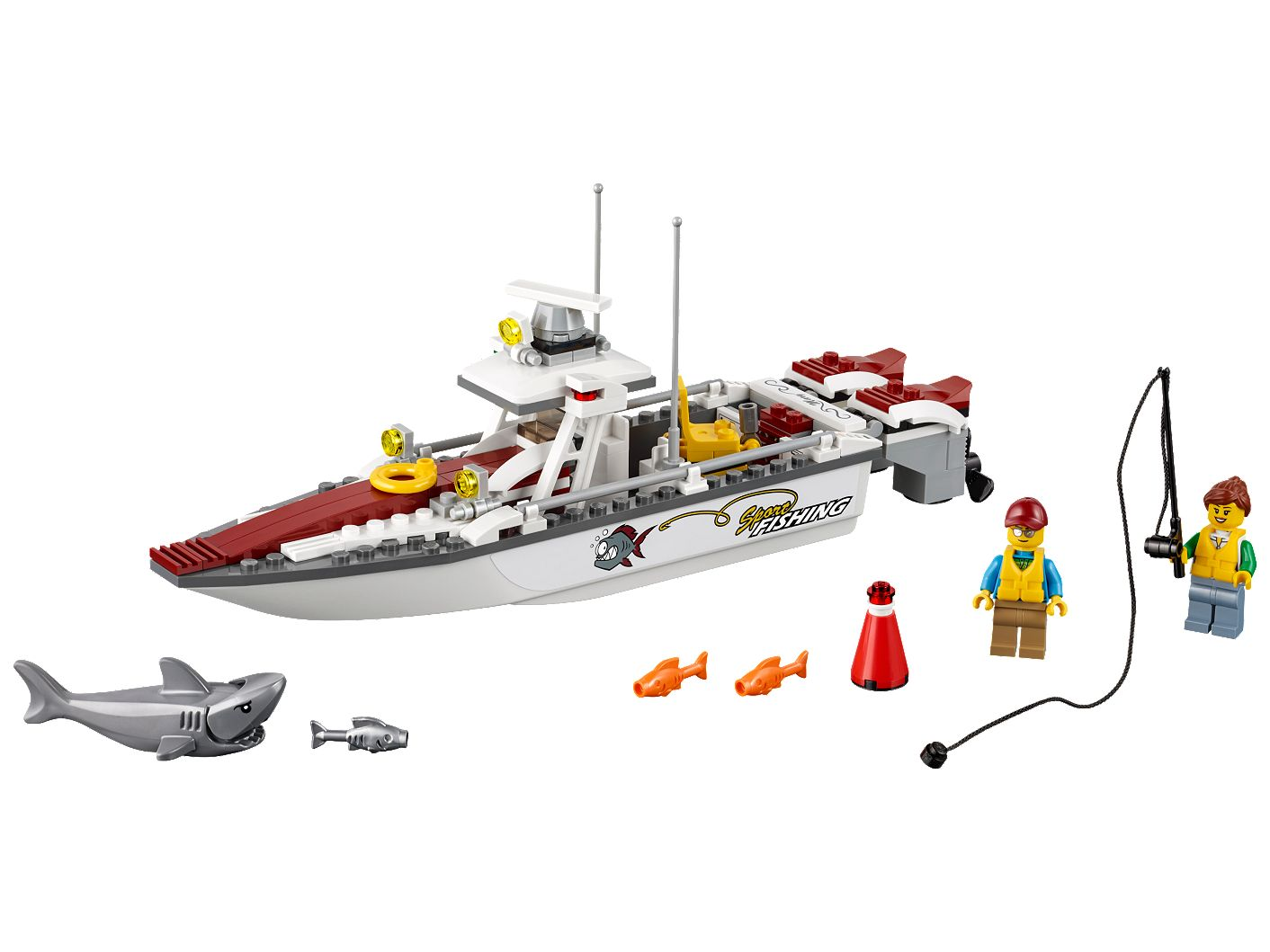 Fishing Boat 60147 | City | Buy online at the Official LEGO® Shop US