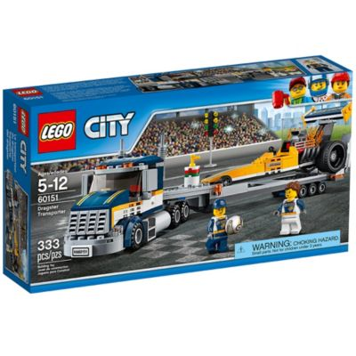 Dragster Transporter 60151 | City | Buy online at the Official LEGO® Shop US